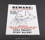 The Strain - Prop Warning Flyer